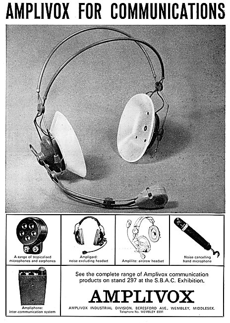 Amplivox Headsets,Crew Communications & Intercoms