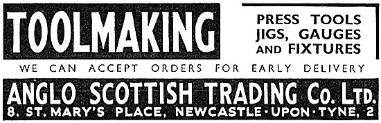 Anglo Scottish Toolmaking: Press Tools, Jigs & Fixtures