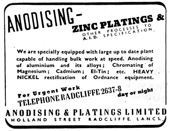 Anodising & Platings