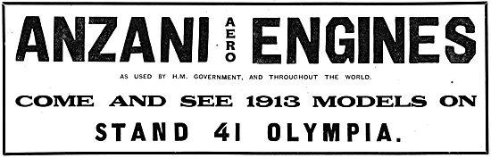 Anzani Aero Engines