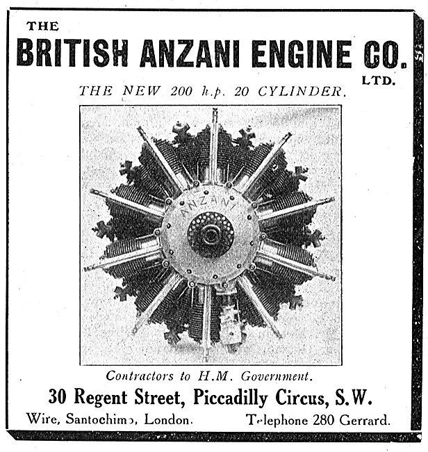 British Anzani Aero Engines