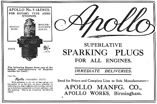 Apollo Sparking Plugs