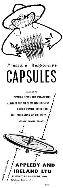 Appleby & Ireland Scientific Instruments - Aneroid Capsules