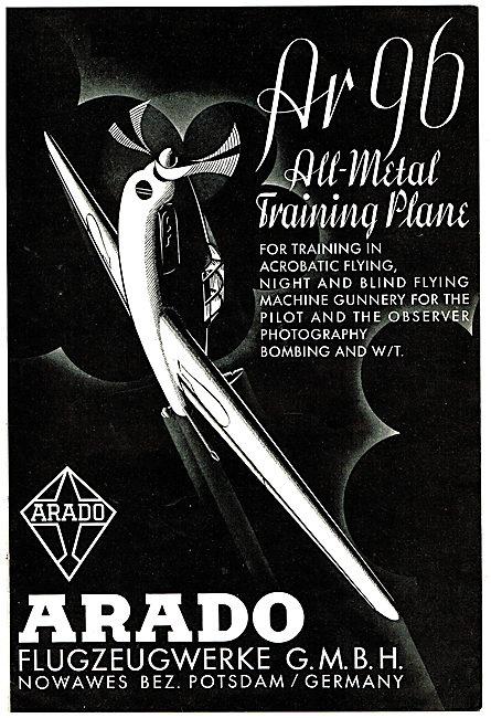 Arado AR96 All Metal Training Aircraft