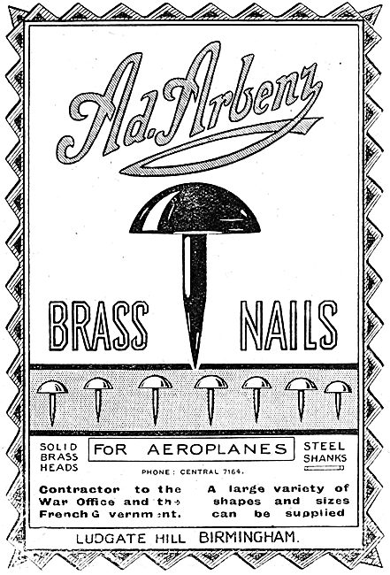 A. Arbenz - Brass Nails For Aircraft Constructors