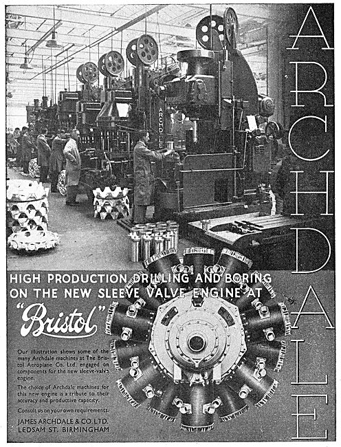 Archdale Machine Tools At Bristol