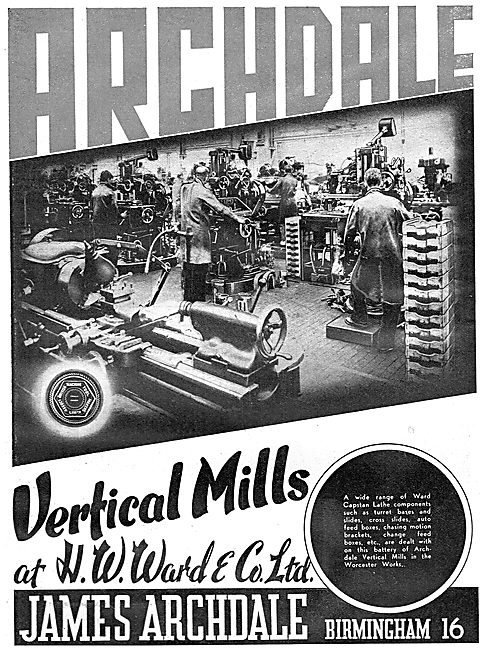 Archdale Vertical Mills