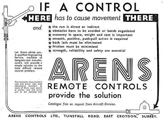 Arens Aircraft Controls