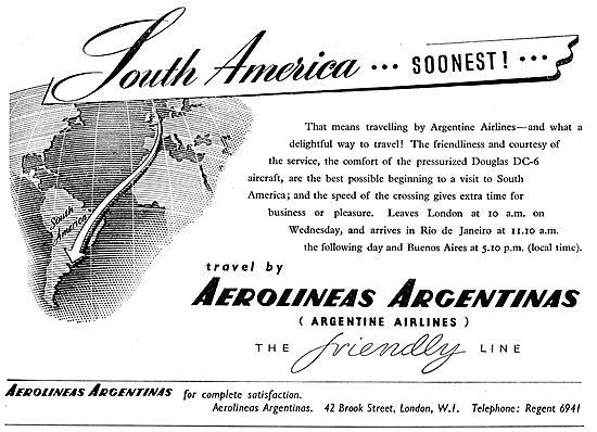 Aerolineas Argentinas - Argentine Airlines