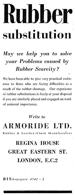 Armoride Rubber & Leathercloth Manufacturers