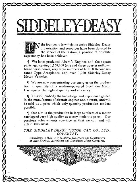 Siddeley-Deasy  Aero Engines