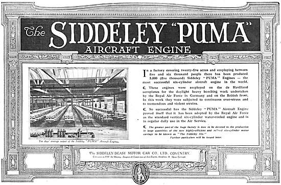 Armstrong Siddeley  Puma Aero Engine