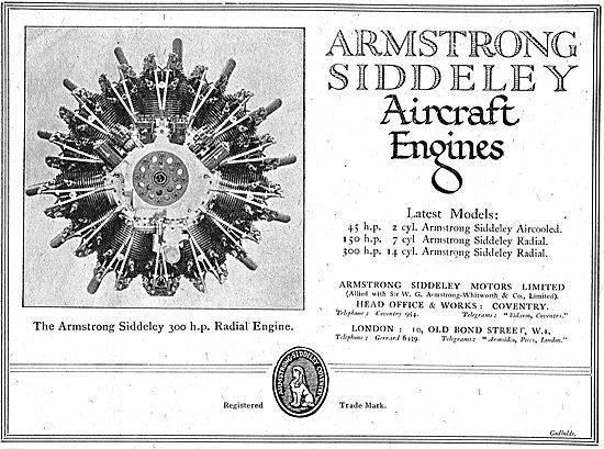 Armstrong Siddeley  300 HP Radial Aero Engine