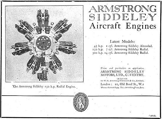 Armstrong Siddeley  150 HP Radial Aero Engine