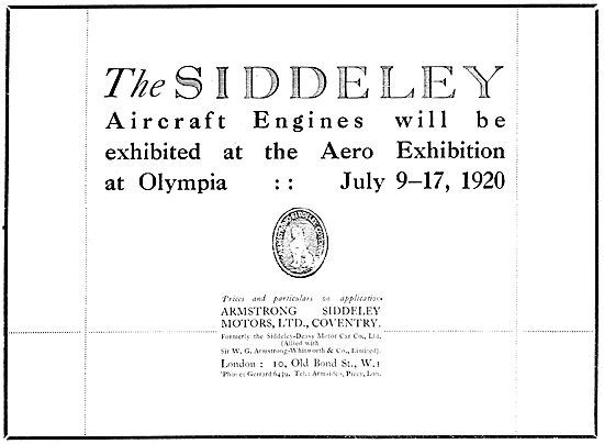 Armstrong Siddeley  Aircraft  Engines