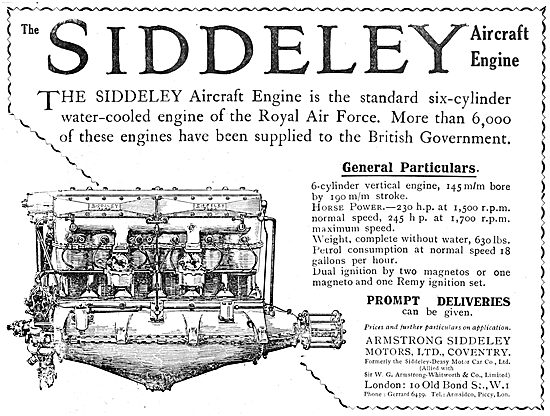 Armstrong Siddeley  Aero Engine