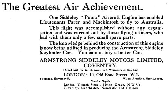 Armstrong Siddeley Puma
