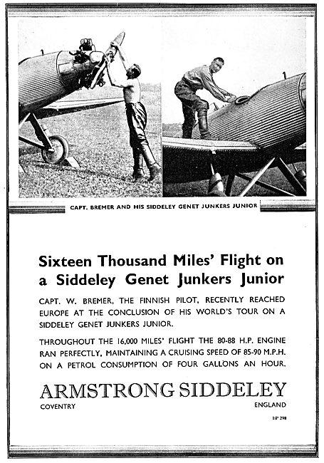 Armstrong Siddeley Genet Major Junkers Junior