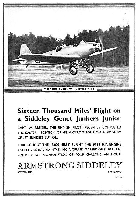 Armstrong Siddeley Genet Junkers Junior