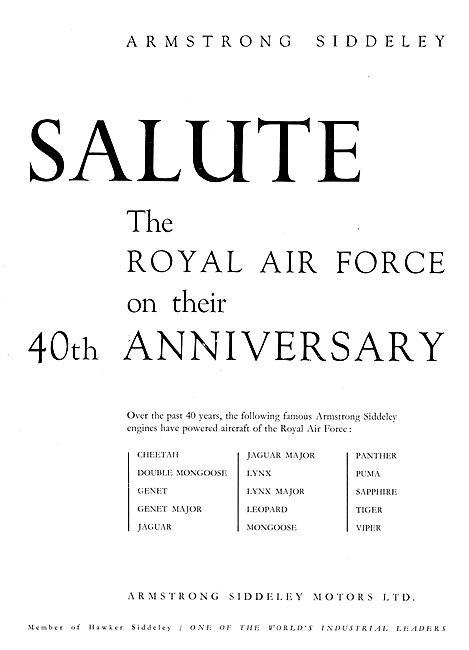 Armstrong Siddeley - RAF 40th