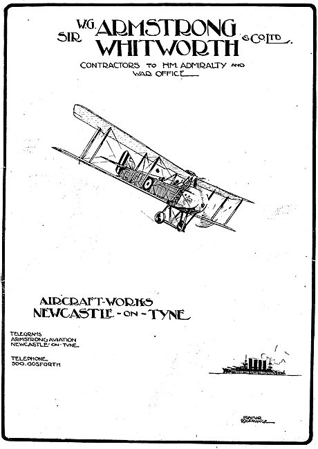 Armstrong Whitworth Aircraft - Newcastle-On-Tyne