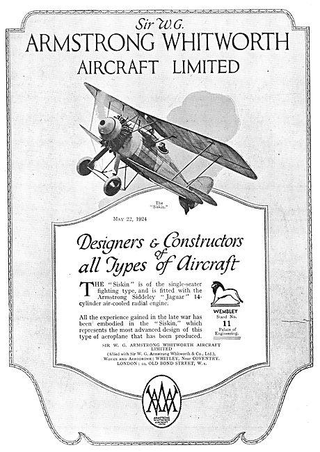 Armstrong Whitworth Aircraft - Siskin