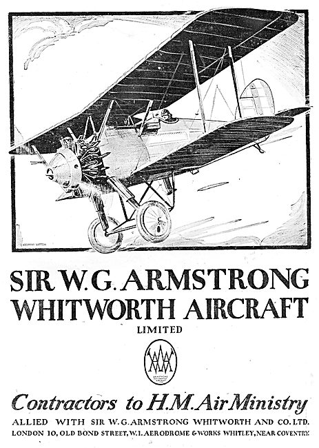 Armstrong Whitworth Aircraft - Whitley, Coventry.