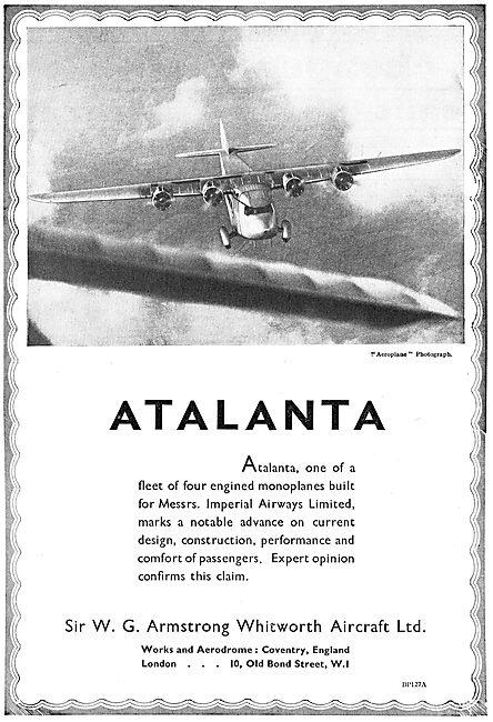 Armstrong Whitworth Airliner  Atalanta