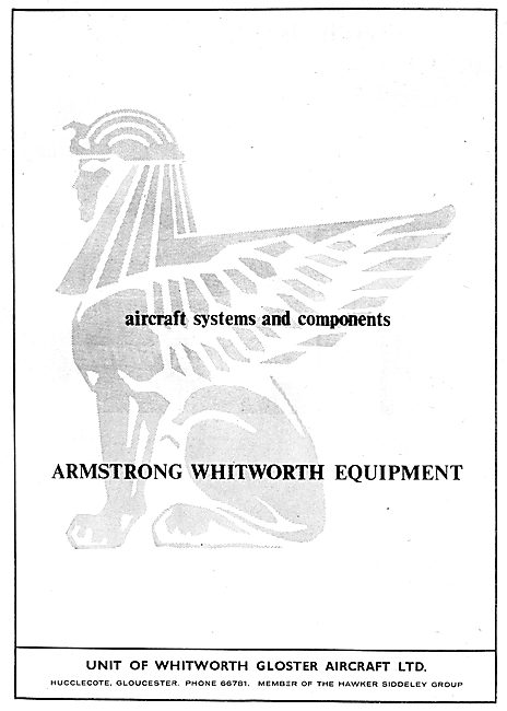 Armstrong Whitworth Equipment 1962