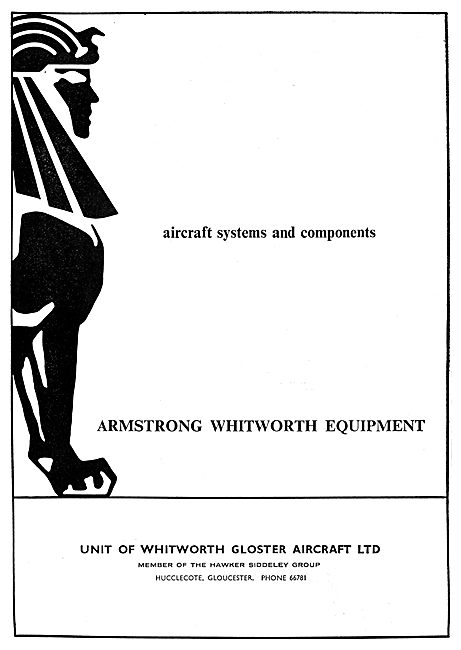 Armstrong Whitworth Equipment