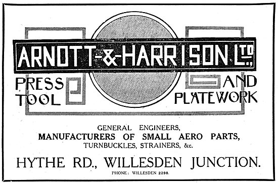 Arnott & Harrison - Press & Plate Toolwork