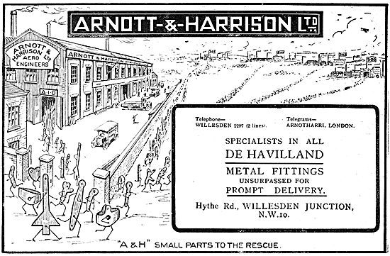 Arnott & Harrison - Aeronautical Engineers1919