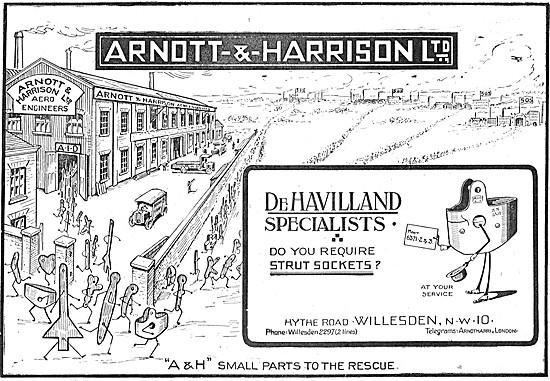 Arnott & Harrison - Aeronautical Engineers & Manufacturers