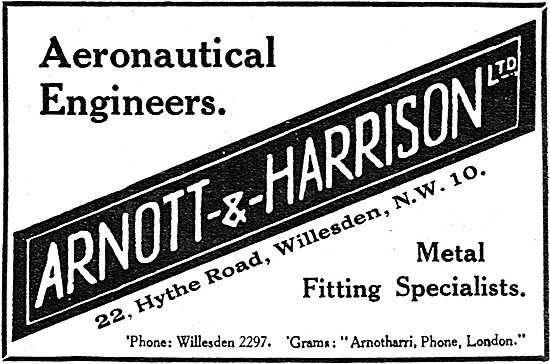 Arnott & Harrison - Aeronautical Engineers & Manufacturers
