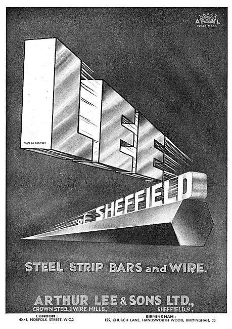 Arthur Lee Steel Strip Bars & Wires