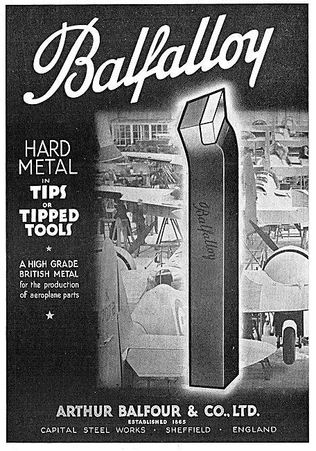 Arthur Balfour: Balfalloy Machine Tools.