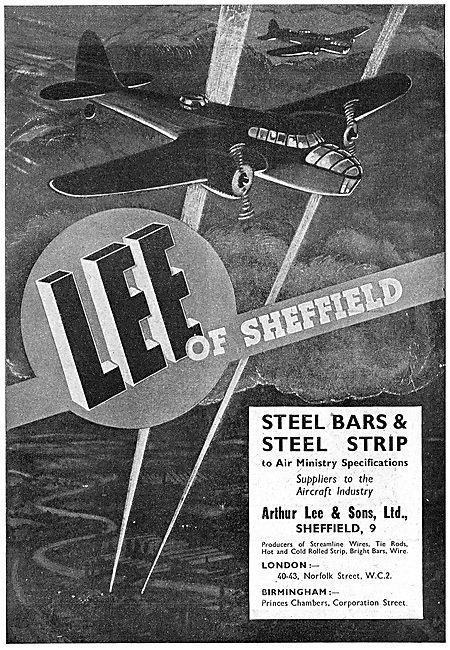 Arthur Lee- Steel Bars, & Strip To Air Ministry Specification