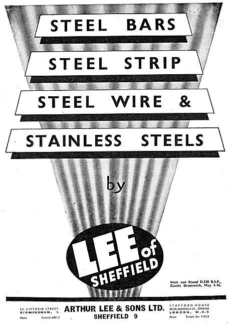 Arthur Lee Strip Steel, Wire & Bars