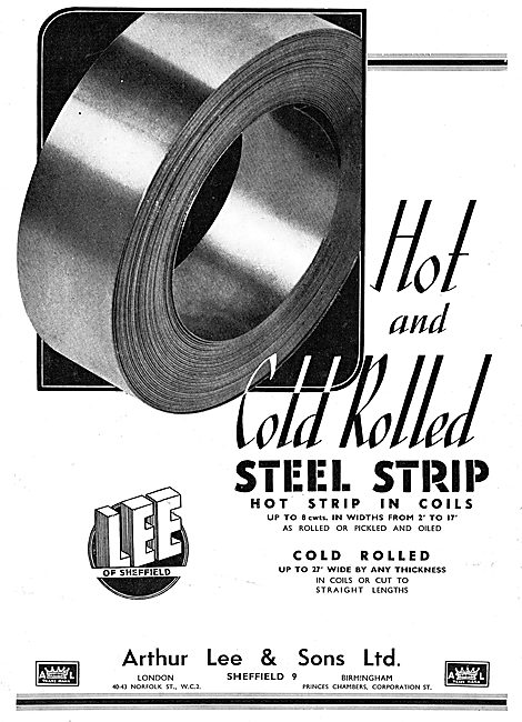 Arthur Lee - Cold Rolled Strip Steel