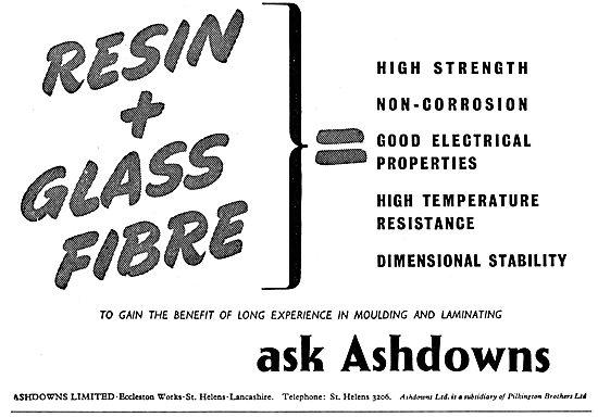 Ashdowns Ltd. - Glassfibre Moulding & Laminating