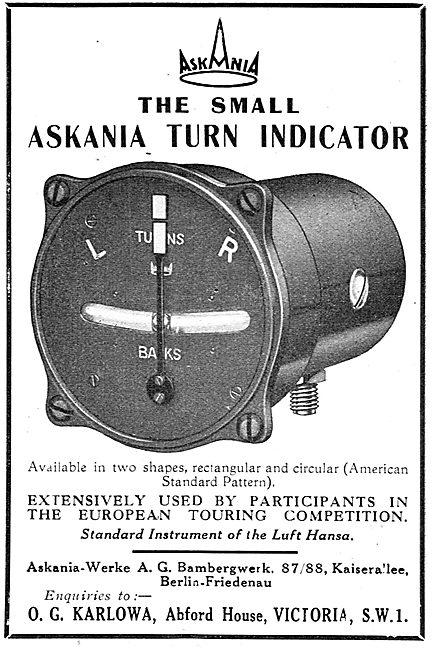 Askania Turn Indicator