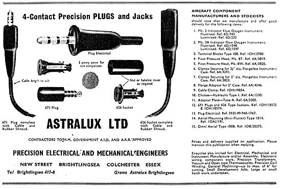 Astralux Ltd.Precision Electrical & Mechanical Engineers