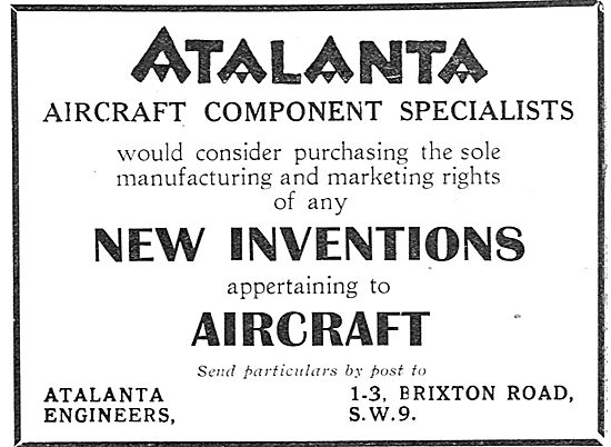 Atalanta Engineers - Aircraft Component Specialists