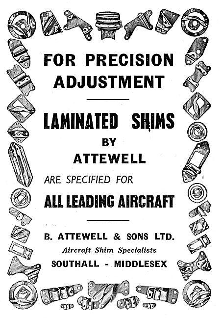 B.Attewell - R.L.A Laminated Aluminium Shims & Packs