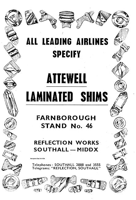 Attewell Laminated Shims For Aircraft