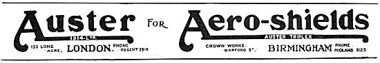 Auster Aero-Shields - Windshields