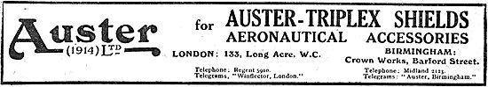 Auster (1914) Ltd Aeronautical Accessories