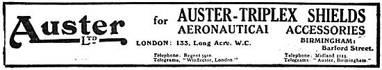 Auster-Triplex Aircraft Windshields