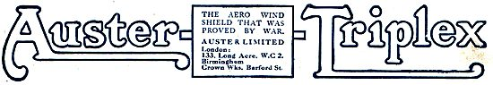 Auster-Triplex Aero Wind Shields