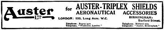 Auster Triplex Aircraft Windshields